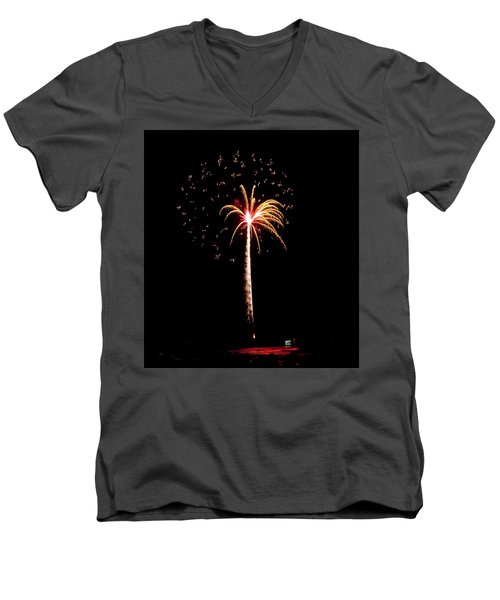 Boom Men's V-Neck T-Shirt