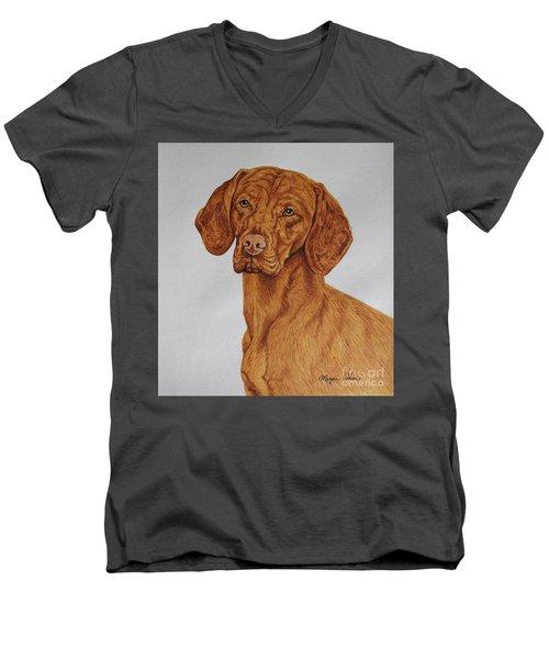 Boomer The Vizsla Men's V-Neck T-Shirt