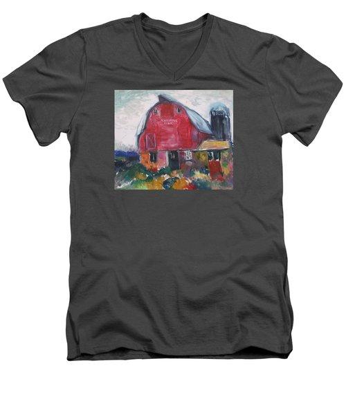 Boompa's Barn Men's V-Neck T-Shirt