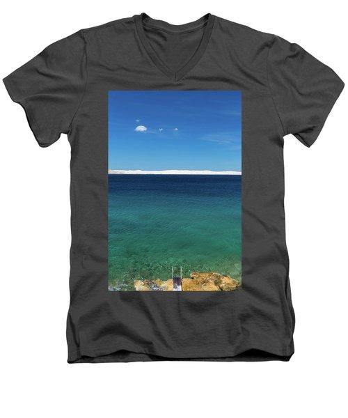 Bora In Velebit Kanal I Men's V-Neck T-Shirt
