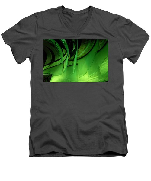 Borealis Men's V-Neck T-Shirt