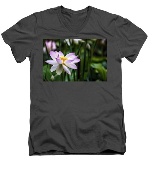 Men's V-Neck T-Shirt featuring the photograph Born Of The Water Original by Edward Kreis