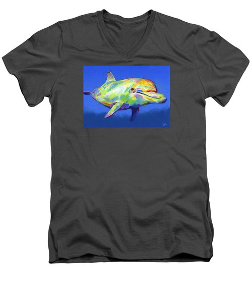 Born To Live Wild Men's V-Neck T-Shirt by Stephen Anderson