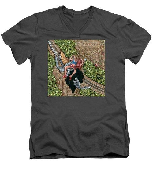 Borrachera Men's V-Neck T-Shirt