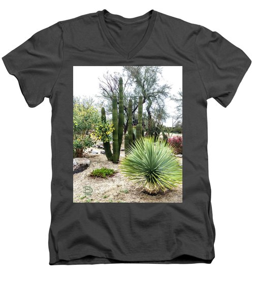 Borrego Botanical Garden Men's V-Neck T-Shirt