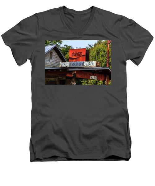 Bo's Grocery Men's V-Neck T-Shirt