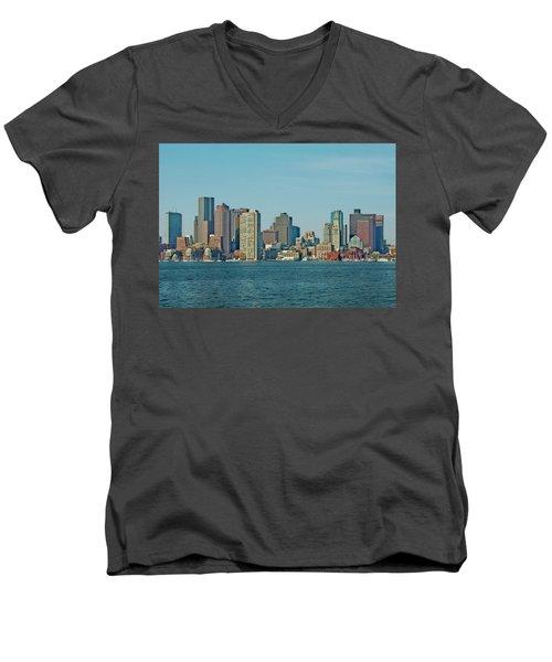 Boston Architecture Men's V-Neck T-Shirt