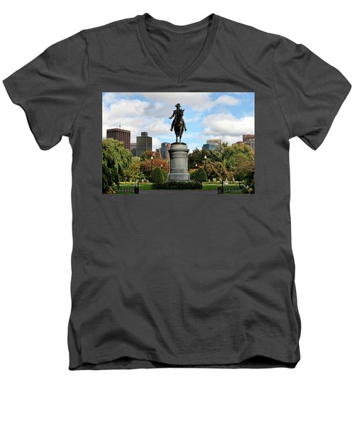 Boston Common Men's V-Neck T-Shirt