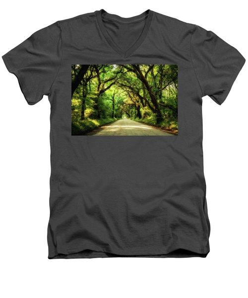 Botany Bay Road Men's V-Neck T-Shirt
