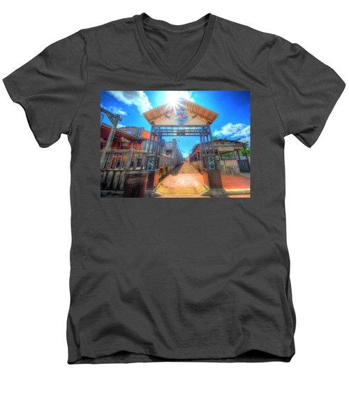 Bottle Cap Alley Men's V-Neck T-Shirt