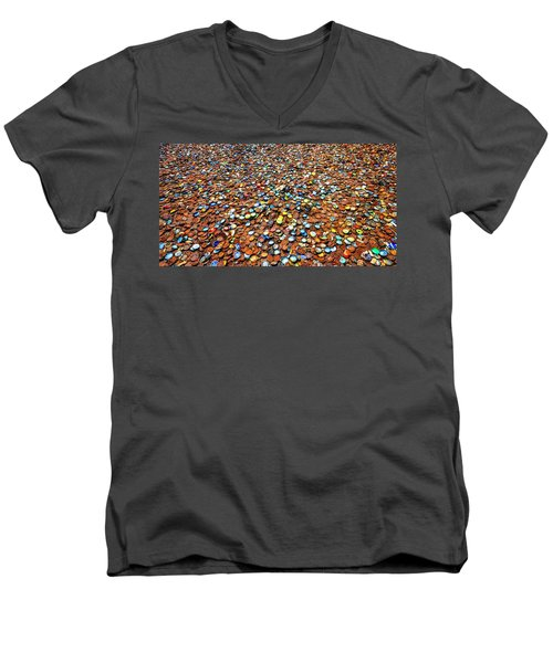 Bottlecap Alley Men's V-Neck T-Shirt