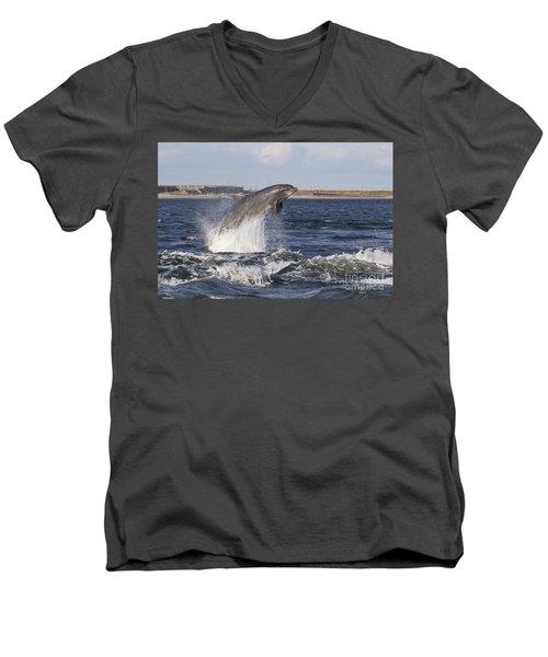 Bottlenose Dolphin - Scotland  #26 Men's V-Neck T-Shirt