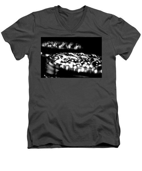 Bottom Side Of Glass Tumblers Men's V-Neck T-Shirt