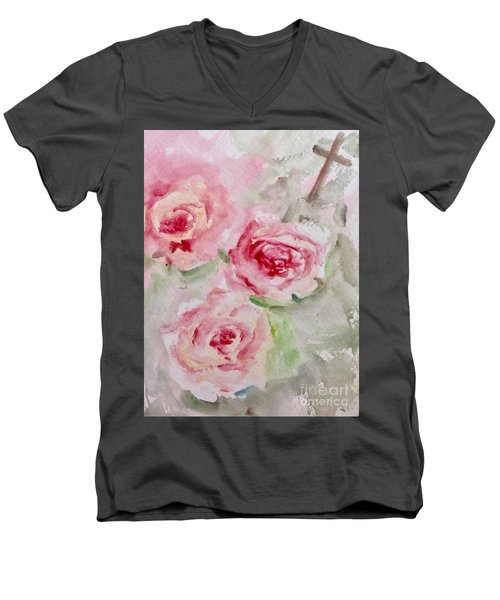 Bought With A Price Men's V-Neck T-Shirt
