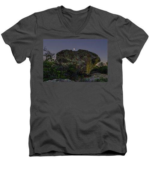 Boulder Moonrise Men's V-Neck T-Shirt