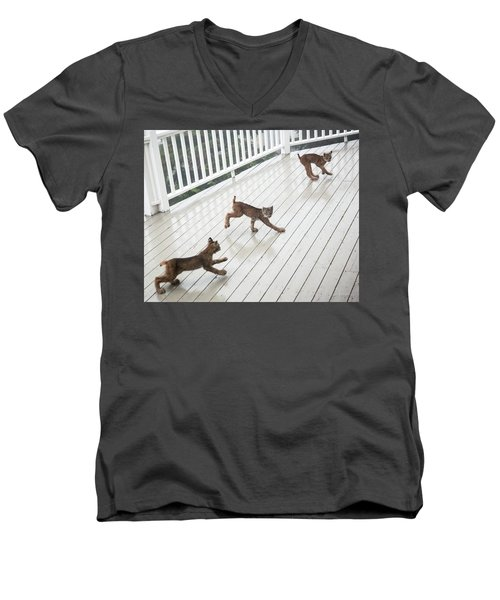 Bouncing Is Best Men's V-Neck T-Shirt