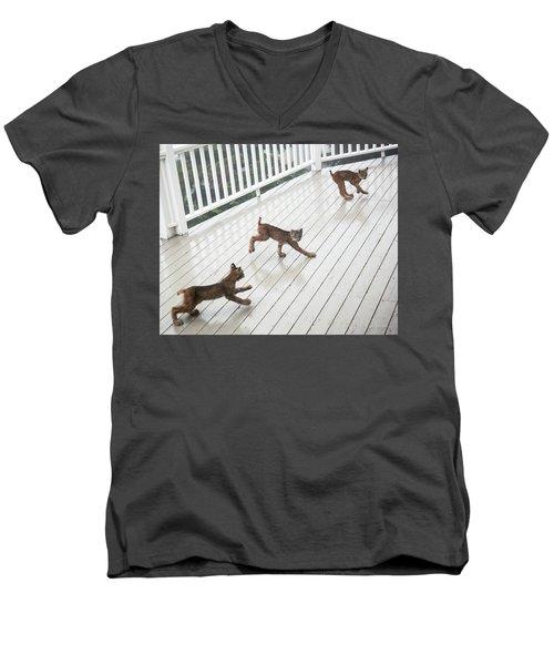 Bouncing Is Best Men's V-Neck T-Shirt