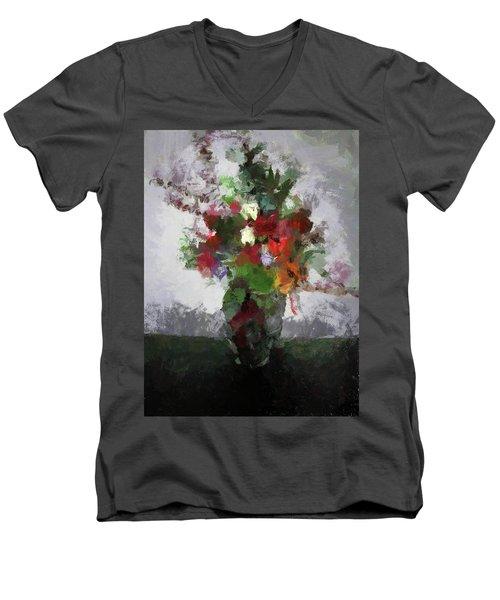 Bouquet Of Flowers Men's V-Neck T-Shirt