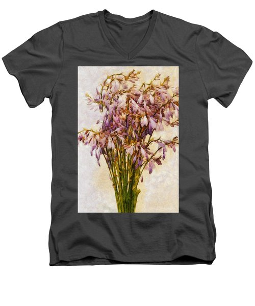 Bouquet Of Hostas Men's V-Neck T-Shirt