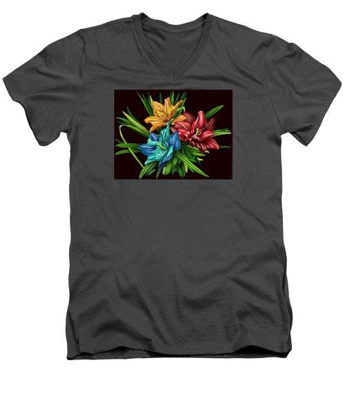 Bouquet#1 Men's V-Neck T-Shirt