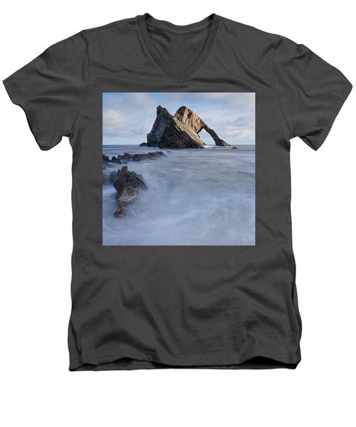 Bow Fiddle Rock Men's V-Neck T-Shirt