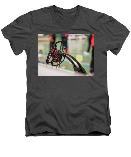 Bow Men's V-Neck T-Shirt