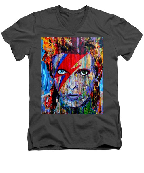 Bowie Men's V-Neck T-Shirt