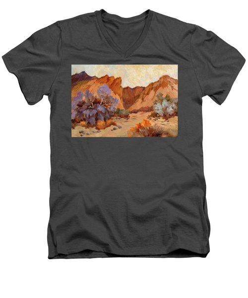 Box Canyon Men's V-Neck T-Shirt