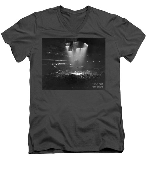 Boxing Match, 1941 Men's V-Neck T-Shirt