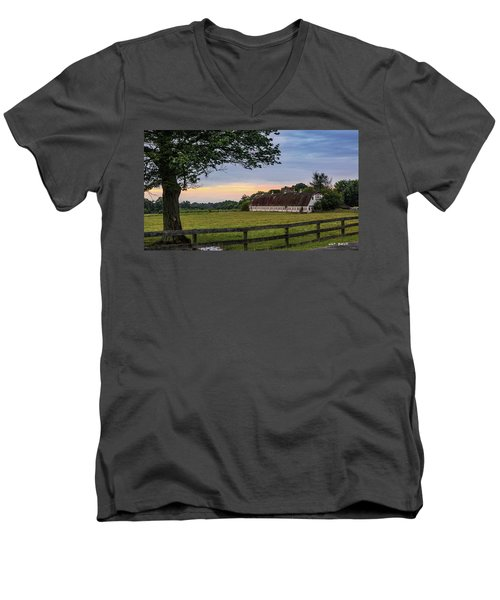 Boxwood Farm Men's V-Neck T-Shirt