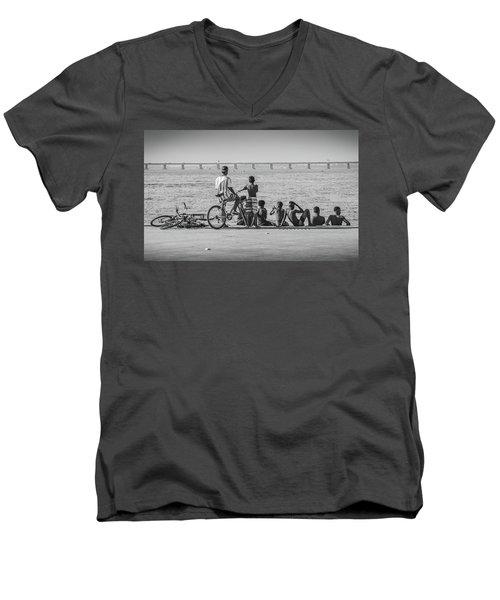Boys From Brazil Men's V-Neck T-Shirt