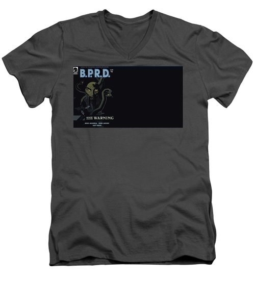 B.p.r.d. Men's V-Neck T-Shirt