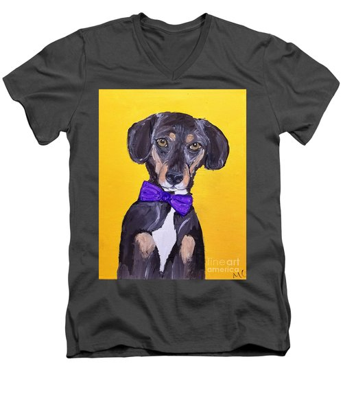Brady Date With Paint Nov 20th Men's V-Neck T-Shirt by Ania M Milo