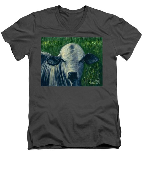 Brahma Bull  Men's V-Neck T-Shirt