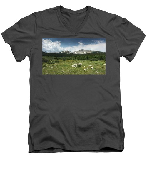 Brainard Lake Men's V-Neck T-Shirt