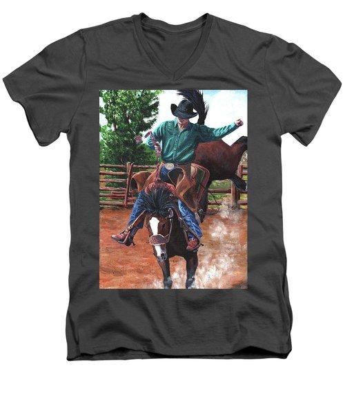 Braking Stock Men's V-Neck T-Shirt