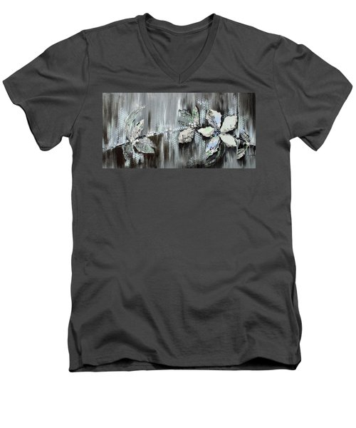 Branches Of Fun Men's V-Neck T-Shirt by Joanne Smoley