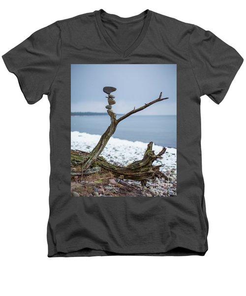 Branching Out Men's V-Neck T-Shirt