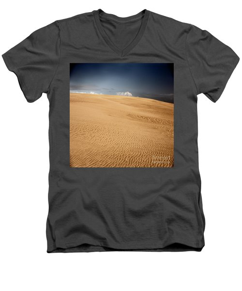 Men's V-Neck T-Shirt featuring the photograph Brave New World by Dana DiPasquale