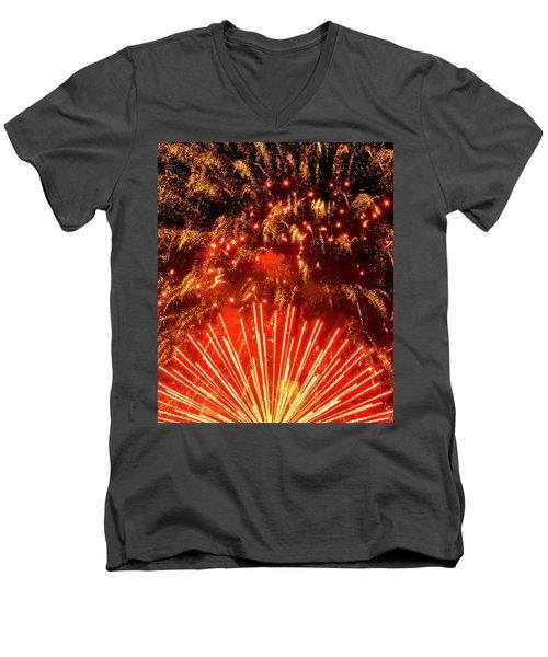Bravo America Men's V-Neck T-Shirt