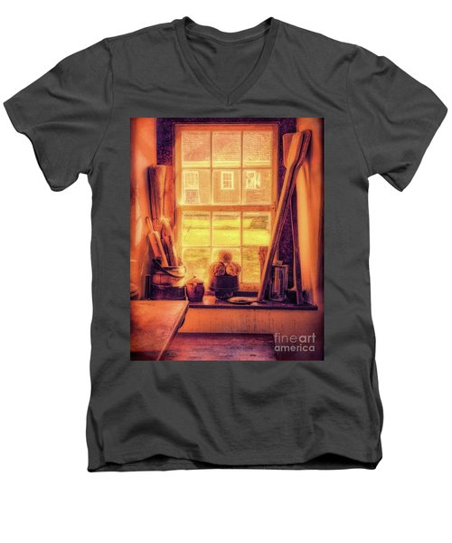 Bread In The Window Men's V-Neck T-Shirt