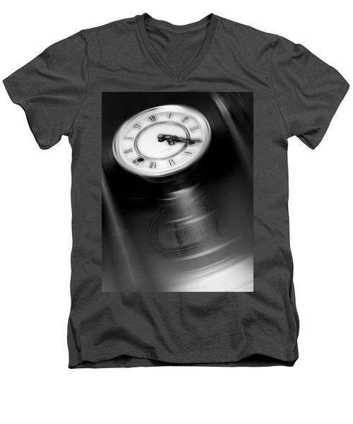 Break Time Men's V-Neck T-Shirt
