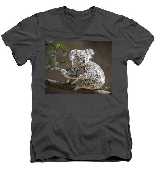 Breakfast Men's V-Neck T-Shirt by Jamie Pham