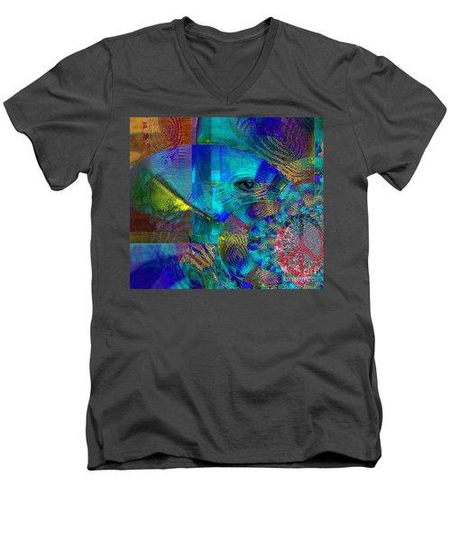 Breaking Borders Men's V-Neck T-Shirt