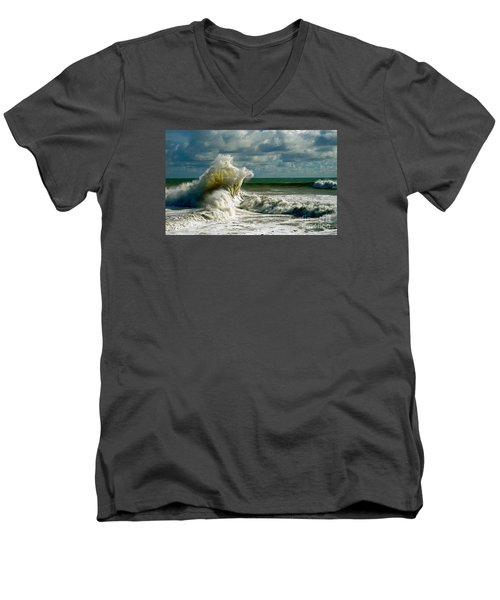 Breakwater Backwash Men's V-Neck T-Shirt