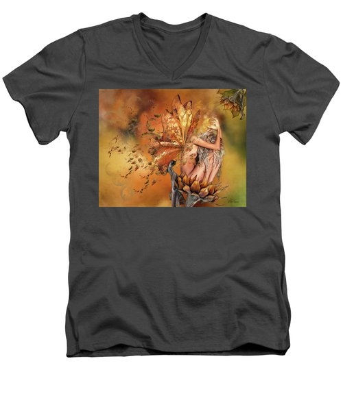 Breath Of Autumn Men's V-Neck T-Shirt