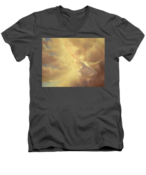 Breath Of Life Men's V-Neck T-Shirt