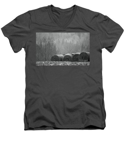 Breathing Spell.. Men's V-Neck T-Shirt