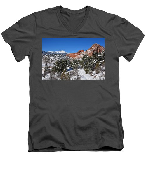 Breathtaking View Men's V-Neck T-Shirt