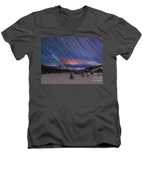 Breckenridge Trails  Men's V-Neck T-Shirt